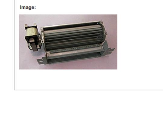 Fisher  Paykel Shacklock Oven cooling fan M570A, M570E, TM570D, XM570, XM570D, XM570X, TCM570, M620, M645, M754, 75
