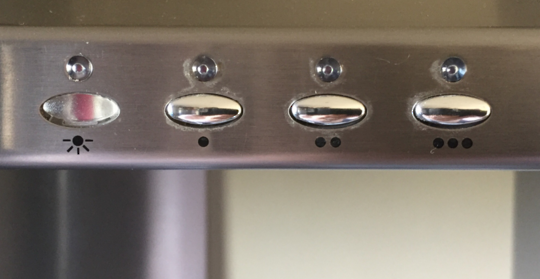 Delonghi Rangehood display knobs BETA60 BETA90SS GAMMA90 GAMMA90GL, BETA 900 INOX, BETA100  BETA120, BETA130, BETA
