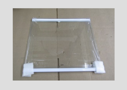 Samsung freezer side Upper Glass shelf srs636scls,