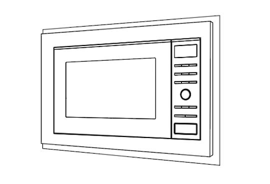 Panasonic Microwave Trim Kit For NN-st671s, NN-SD691SQPQ, NN- GD682SQPQ,