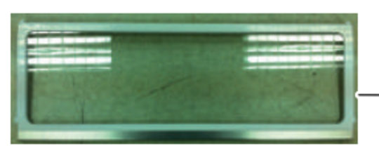 Samsung Fridge Shelf folder front SRL458ELS, RL4003SBASP/SA, RL4003SBAWW/SA, RL4013UBASL/SA, RL4013UBAWW/SA, RL4014SBABS/SA, RL4