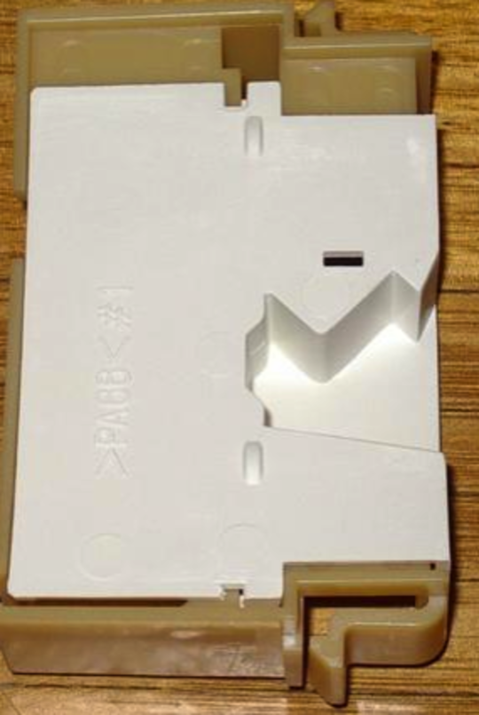 SIMPSON WESTINGHOUSE ELECTROLUX DRYER Door Switch bracket  39P400M, 39S500M, 39S600M, 39S505EM, LD500B, LD505EB, LD605EB, ED