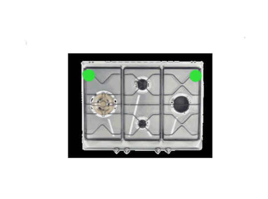 Smeg and omega Cooktop Trivet side left or right sar574x.1,