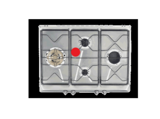 Smeg and omega Cooktop Trivet middle sar574x.1,