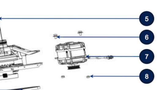 WHIRLPOOL WASHING MACHINE Motor WTWE85IG1,