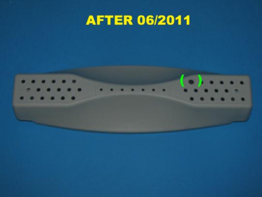 Asko Washing Machine Drum Rib WM70 W6444 W6445 W6464 made after 06/2011