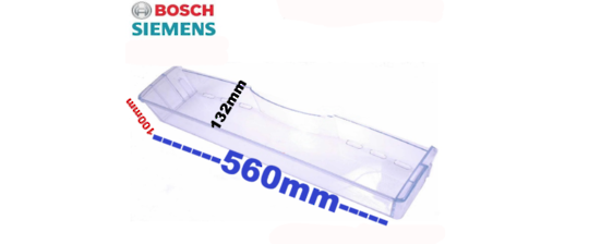 Bosch Fridge Bottle shelf ksu405916w, KSU445916W,  100mm Tall , ******NO LONGER AVAILABLE ****