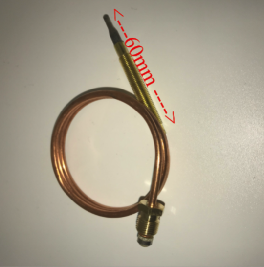 Universal  OVEN THERMOCOUPLE 600MM LONG,