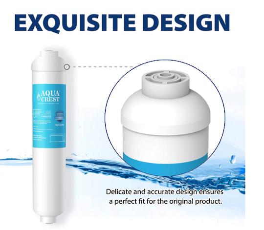 Fridge Water Filter EXTERNAL INLINE WATER FILTER , for all brand ,