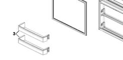 Haier Fridge  Shelf on Freezer Door hrf-261fw, hrf-224fg, hrf-224fw, hrf261fw, hrf224fg, hrf224fw,