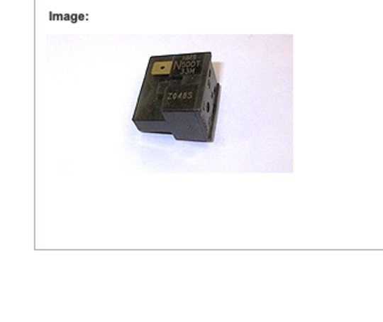 FISHER PAYKEL FRIDGE COMPRESSOR RELAY N375TR, N405TR, N400HR,  OVERLOAD 4TMI89NFBYY-53,