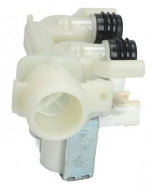 Indesit Washing machineInlet Valve Dual inlet, IWB 6085 B AUS, IWD 7105 B AUS, PWC 7127 S AUS,