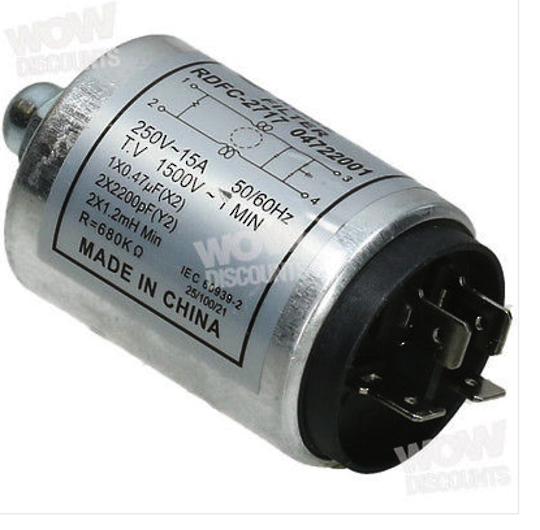 Samsung and Korean Made  and other appliances CAPACITOR, WF8750LSW, WW65J3263IW/NZ,