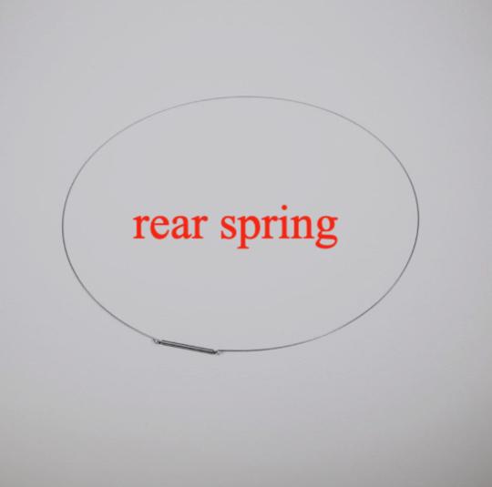 Bosch washing machine Door Seal boot gasket Rear Spring Clamp WBB24750AU,