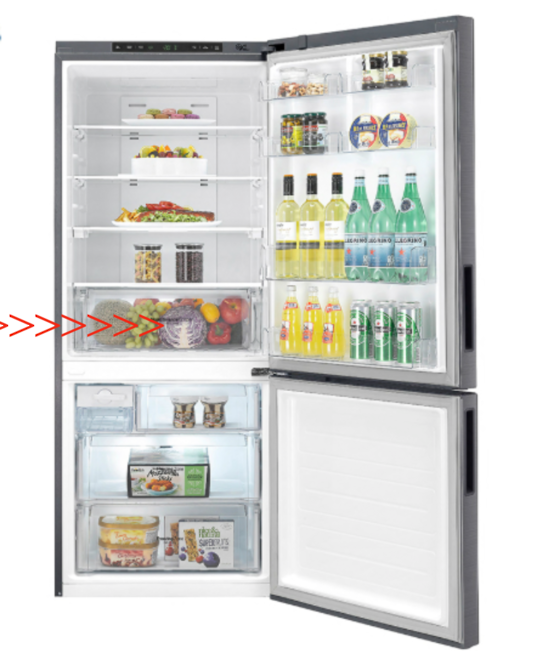 Lg Fridge Veggie Draw GB-450UPLX,