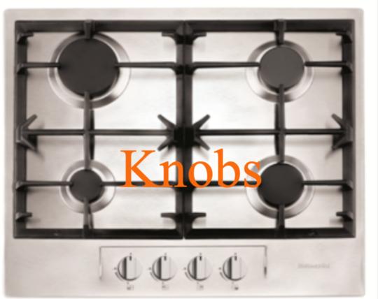 Baumatic Gas Cooktop Knob BHG690SS,  BHG695SS, BHG790SS,