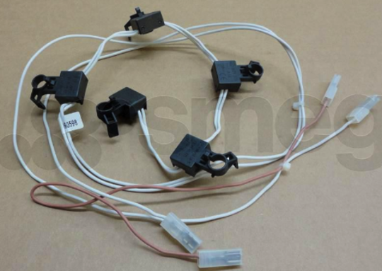 Smeg GAS COOKTOP and oven Ignition Switch link of 5 PFG95-3,