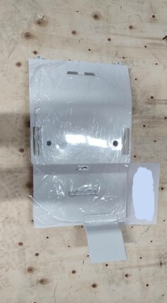 Samsung fridge evaporator fan and cover Fridge Side SRS583NLS,