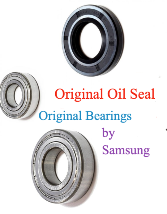 SAMSUNG WASHING MACHINE oil seal and  bearing set Original WF1752WPW, *8A 46 48