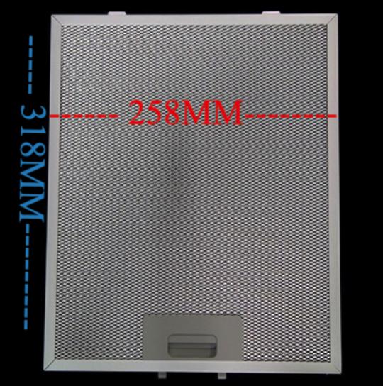 OMEGA Rangehood Aluminium ORW6XA, VC612,