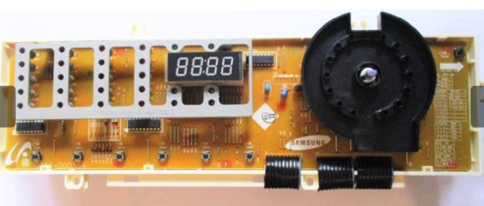 SAMSUNG WASHING MACHINE MAIN PCB DISPLAY WF7700N6W, *00135D