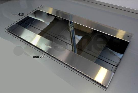 SMEG OVEN outer DOOR GLASS CS19-2, version 3
