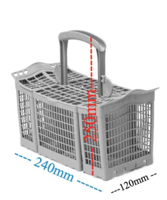 Fisher Paykel Dishwasher cutlery basket DW60DOX1, 80561, 80751,