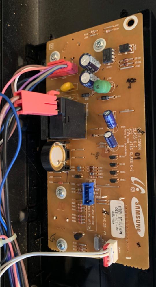 Samsung Oven PCB Main NV70F7584DSSA(Version 0000), BF641FST,