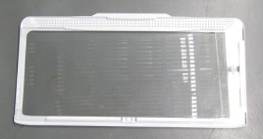 Samsung Fridge Shelf Veggie bin cover RF62TBSL1,