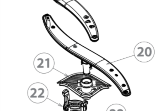 Fisher Paykel, Haier, Elba, Dishwasher lower Spray Arm DW60FC2W1,