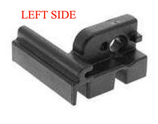 Indesit Ariston Oven Inner Door Glass Lower plug glass holder LEFT SIDE  A6VMH60W, A64IMCA1XAUS,