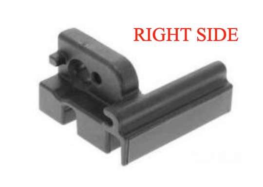 Indesit Ariston Oven Inner Door Glass Lower plug glass holder Right SIDE  A6VMH60W, A64IMCA1XAUS,