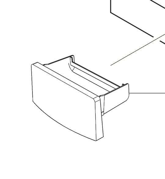 Samsung washing machine dispenser draw SW75USP,