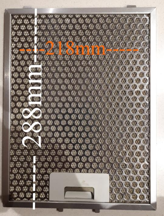 Smeg Rangehood Aluminium Filter k273-2xs,