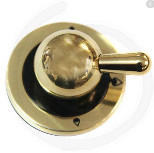 ILVE OVEN COOKTOP BRASS KNOB GAS BURNERS MAJESTIC OLD SERIES,