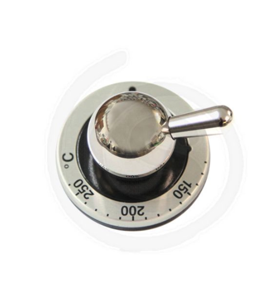 ILVE OVEN THERMOSTAT GAS SWITCH BRASS KNOB MAJESTIC NEW SERIES