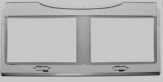 Samsung Fridge veggie bin cover shelf SRF671BFH2, RF56M9540SG/SA, SRF717CDBLS,