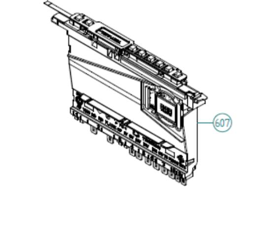 Asko Dishwasher PCB DW90.2, *3498