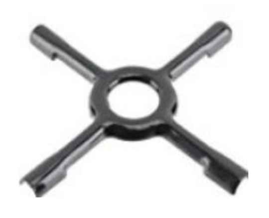Universal Oven Cooktop Cross support for espresso Stand for pot 130mm,
