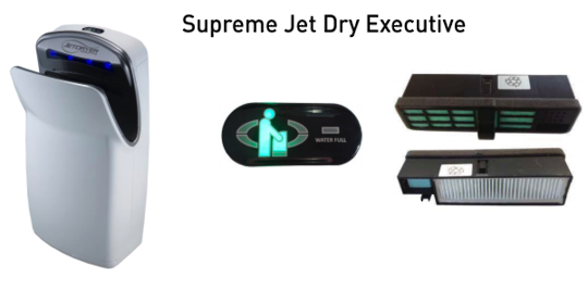 Jet Dry Executive I Hand Dryer Filter JDEXE, Pack of 4