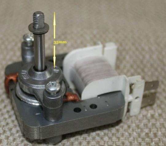 Omega Everdure Oven Fan Motor OBO674X OO654X V2, 11W, 11 watt,
