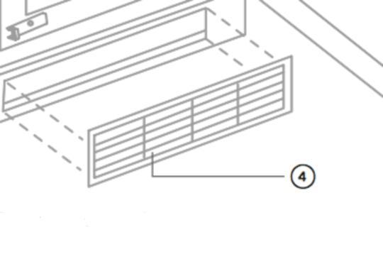 fisher paykel fridge door Ventilation Window  most model,