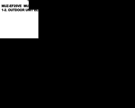 Mitsubishi Heat pump or Aircon Inverter Pcb MUZEF42VE-A!,