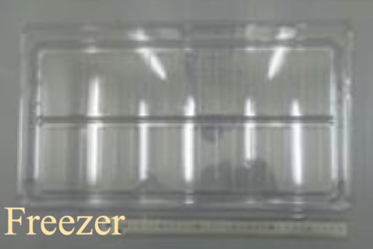 Samsung Freezer shelf SR342WTC, SR343LSTC, R317WTC ,