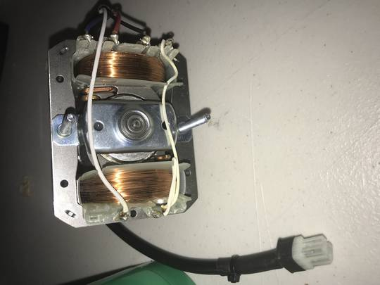 SMEG RANGEHOOD FAN MOTOR K24PUXSA90 MADE after 2006  plug at the end of wire