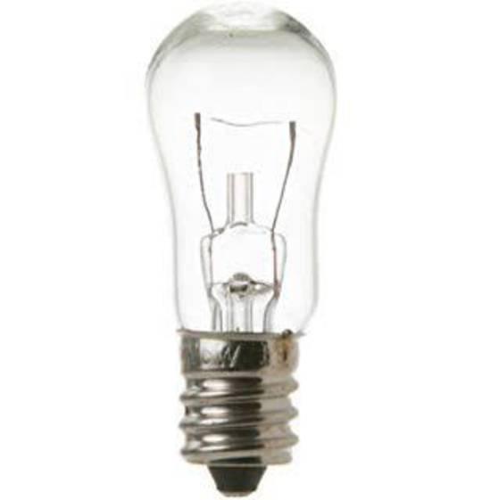 American Fridge Freezer Lamp Light Bulb Ice Dispencer GCG21IESBFBB, 6W 12 Volt,