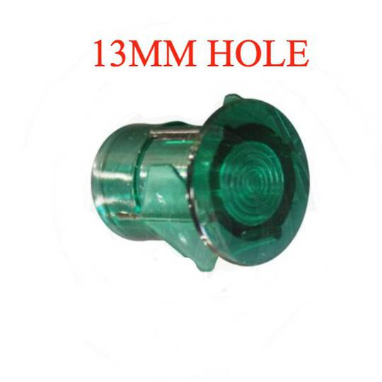 ILVE Oven GREEN NEON LENS COVER SMALL 13mm HOLE,