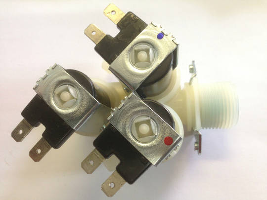 Lg Asko washing machine inlet Valve 3 way triple valve,