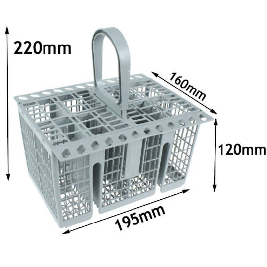 Ariston Indesit Dishwasher Cutlery Basket new type LFF8M5XAUS, LFF8M132CXAUS, LFF8M5AUS, LFF8M132CAUS, LFF8M122AUS, *57140