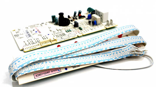 Fisher Paykel Elba dishwasher control Board PCB DW60csw1, DW60csx1, including display board